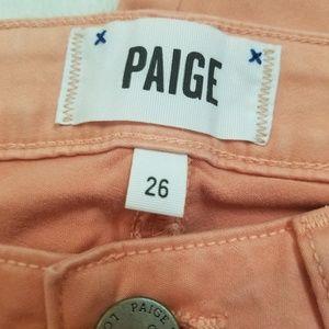 PAIGE Pants - Paige verdugo ankle size 26